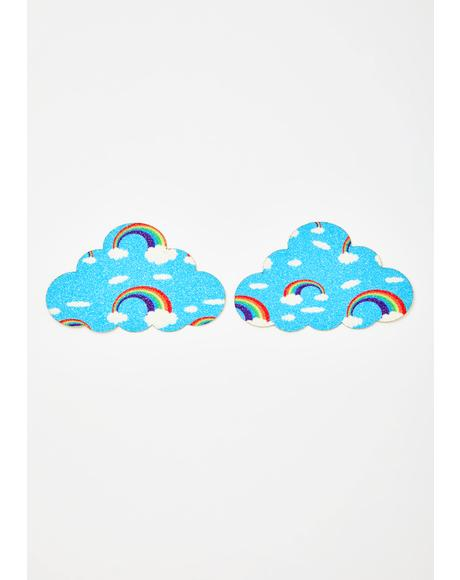 Cloud Rainbow Pasties