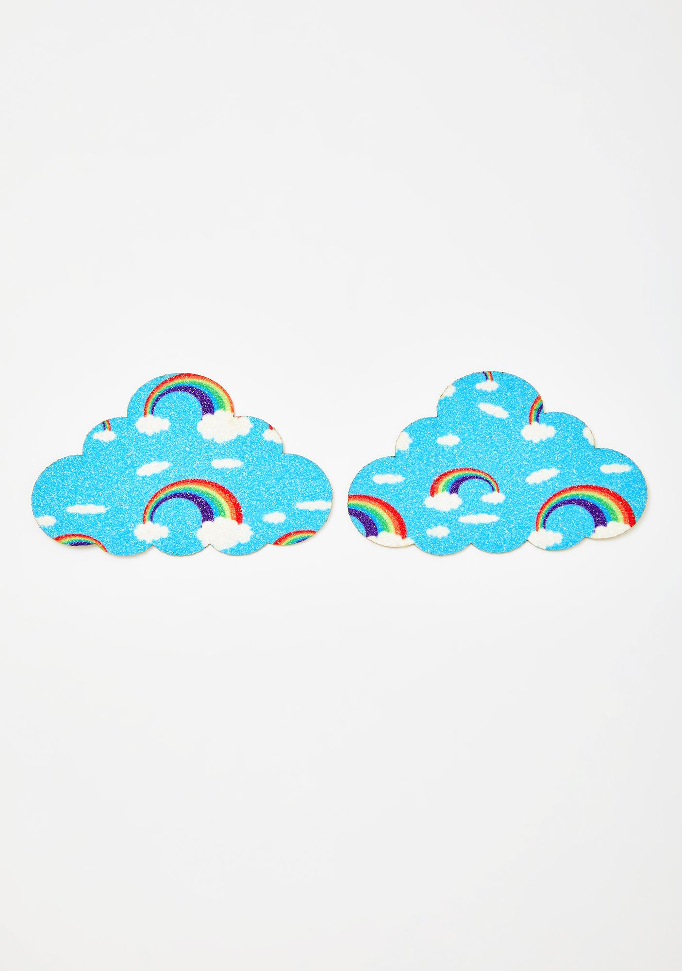 Neva Nude Cloud Rainbow Pasties