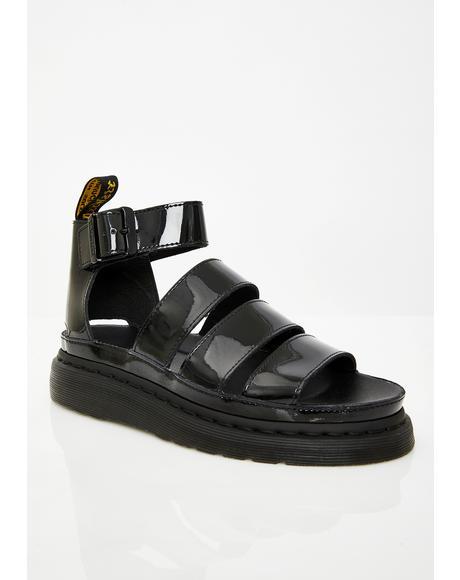 Clarissa II Patent Sandals