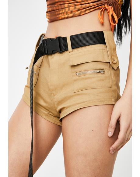 Meetings On Rodeo Utility Shorts