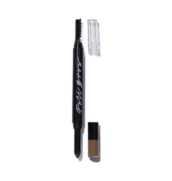 Full Brow Light Brow Smudge