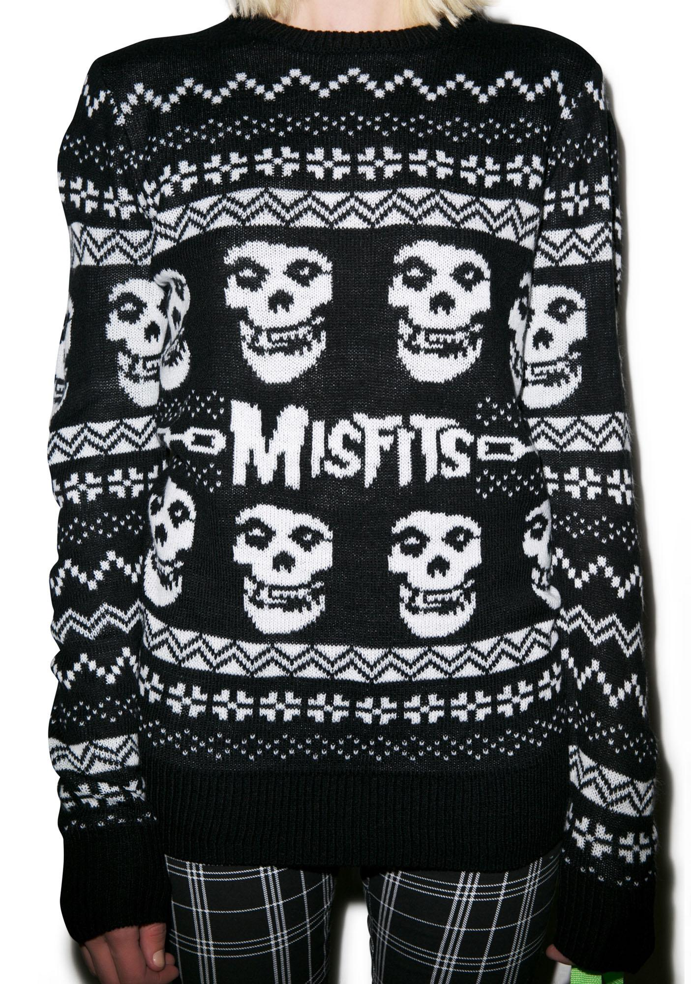 Iron Fist Merry Misfits Sweater | Dolls Kill
