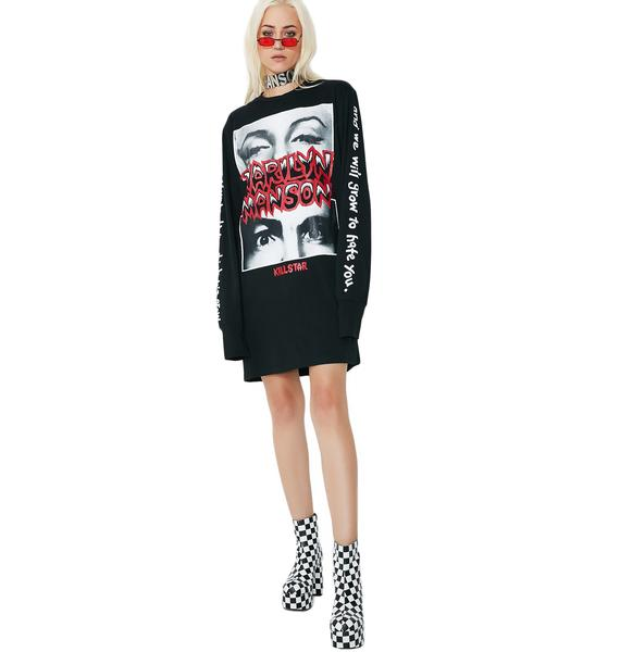 Killstar This Is Your World Long Sleeve T-Shirt