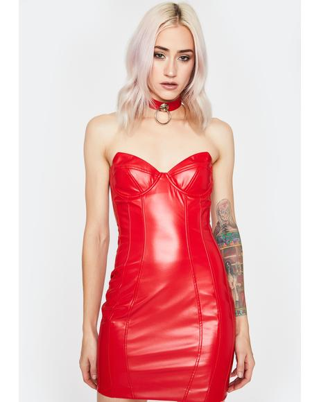 Cherry Buy Me Somethin' Bodycon Dress