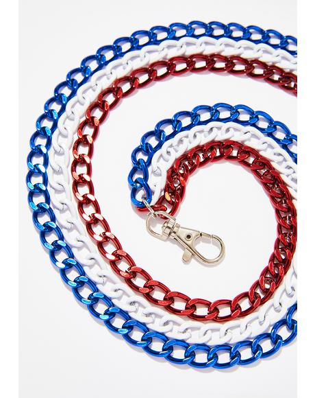 Make America Hyphy Again Pocket Chain
