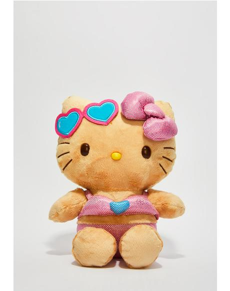 Beach Hello Kitty Plush