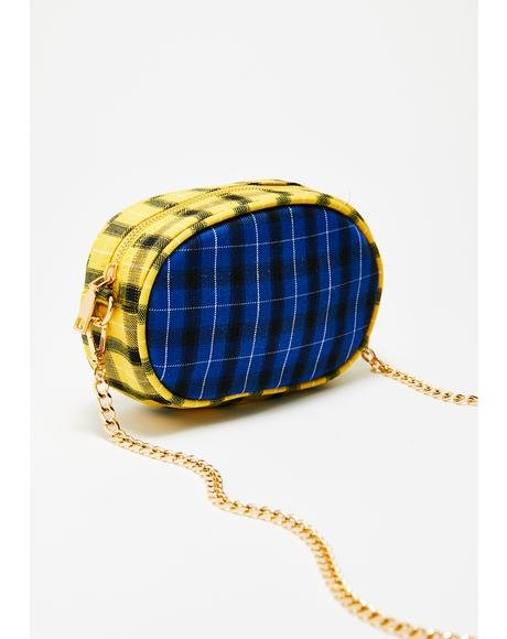 Haute Desire Plaid Purse