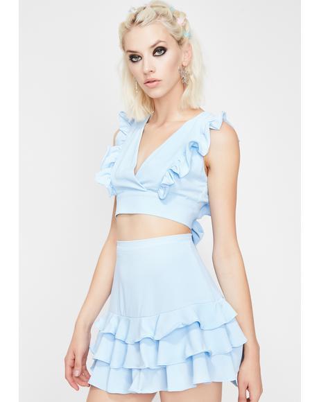Berry Divalicious Skirt Set