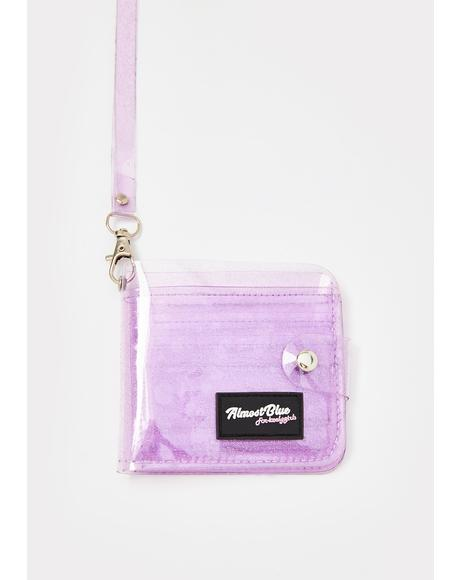 Lilac None Of Ur Beeswax Jelly Wallet