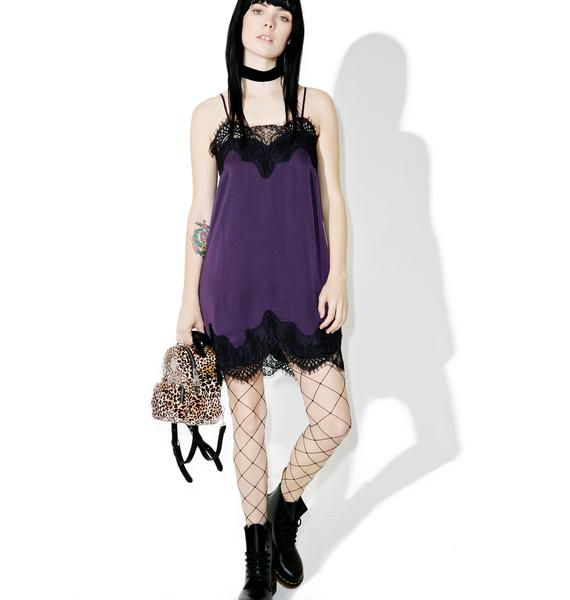 Dark Youth Slip Dress