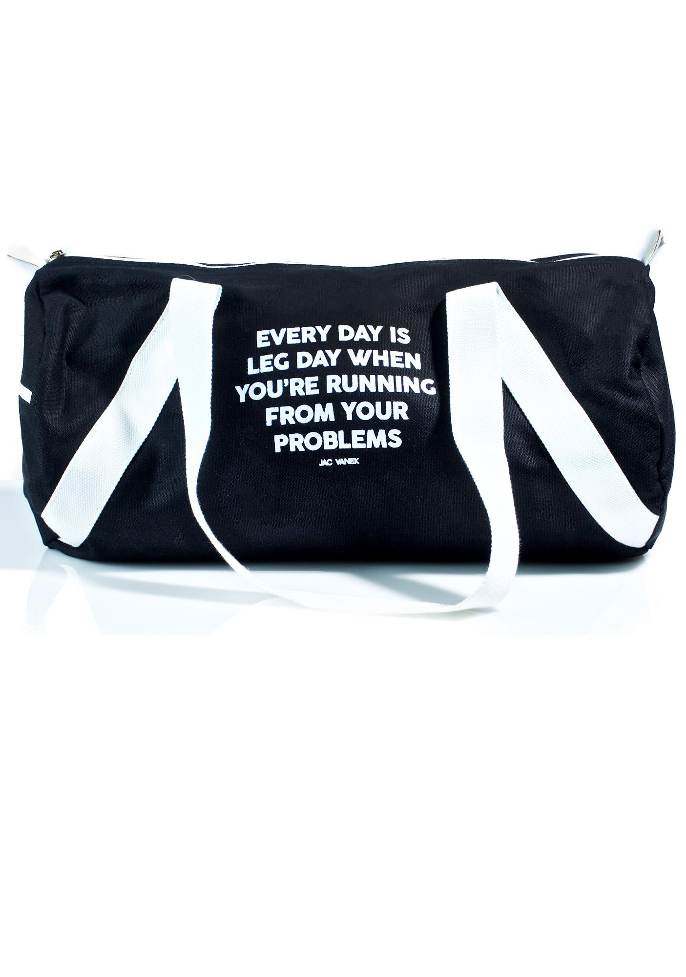 Jac Vanek Leg Day Duffle Bag