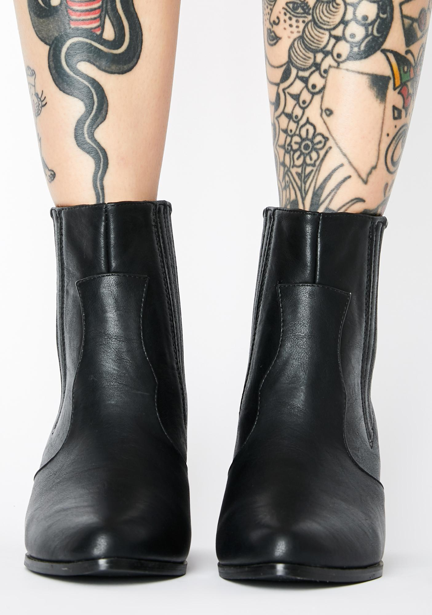 Bold Rebel Ankle Boots