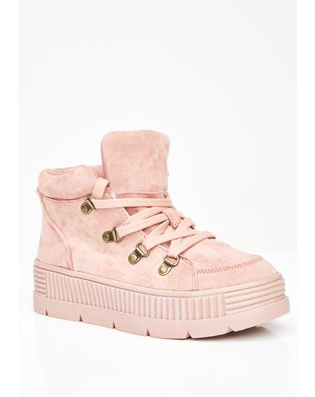 Miss So Called Angels Platform Sneakers