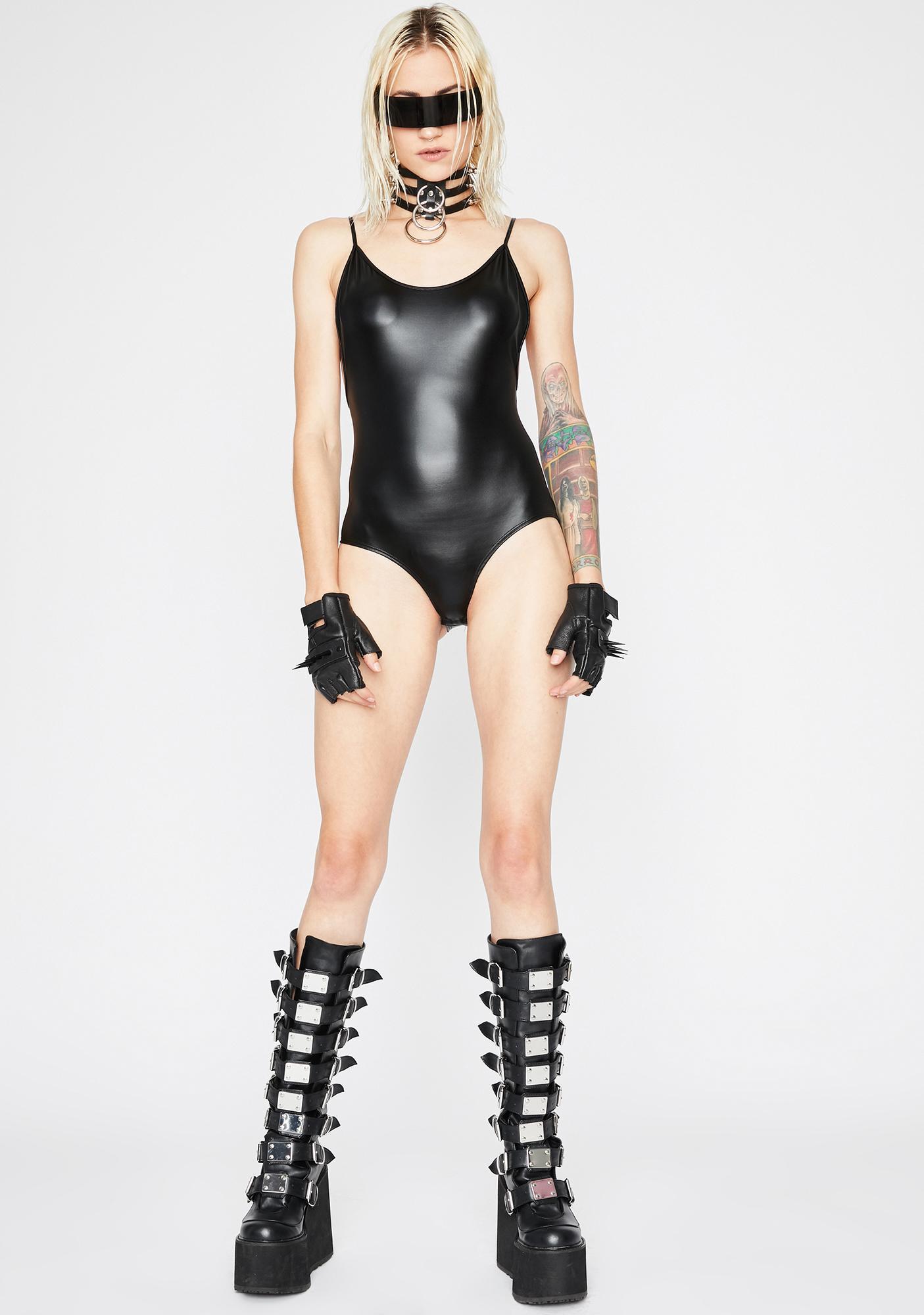 Hot Bod Stretchy Bodysuit