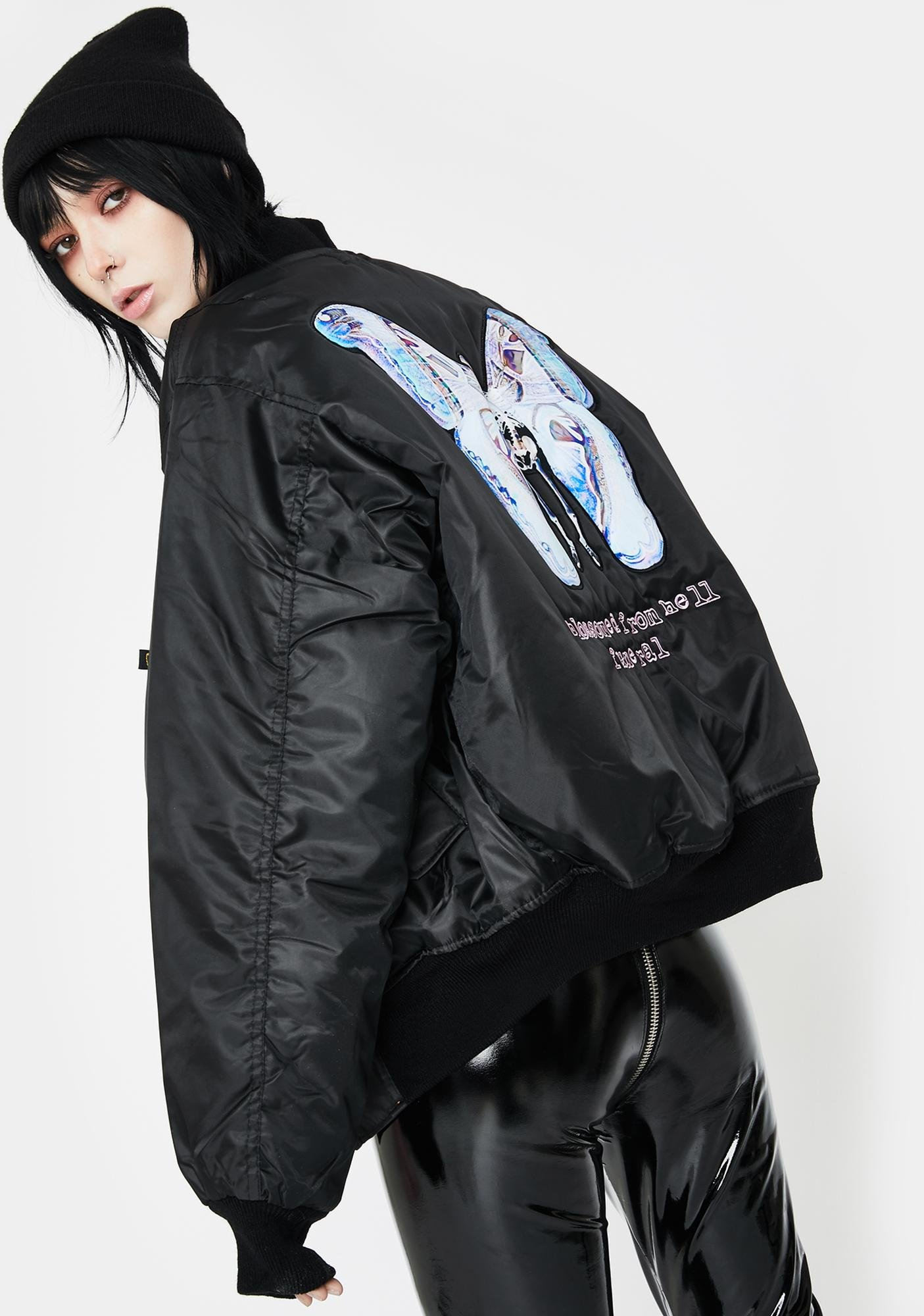 Funeral Blossomed From Hell Bomber Jacket