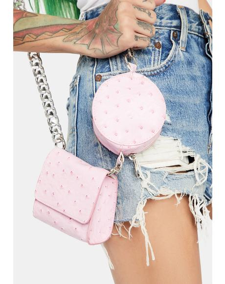 Lady Got 2 Phones Crossbody Bag