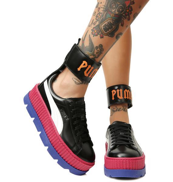 74a4b5f99e8 ... PUMA FENTY PUMA by Rihanna Ankle Strap Sneakers ...