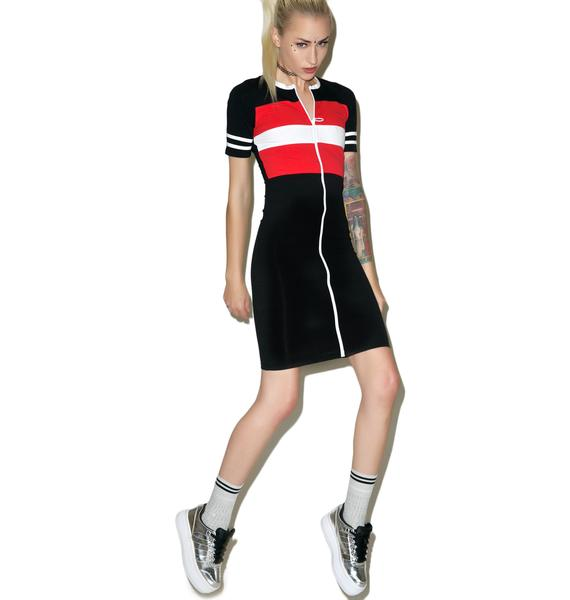 Valley High Sport Bodycon Dress