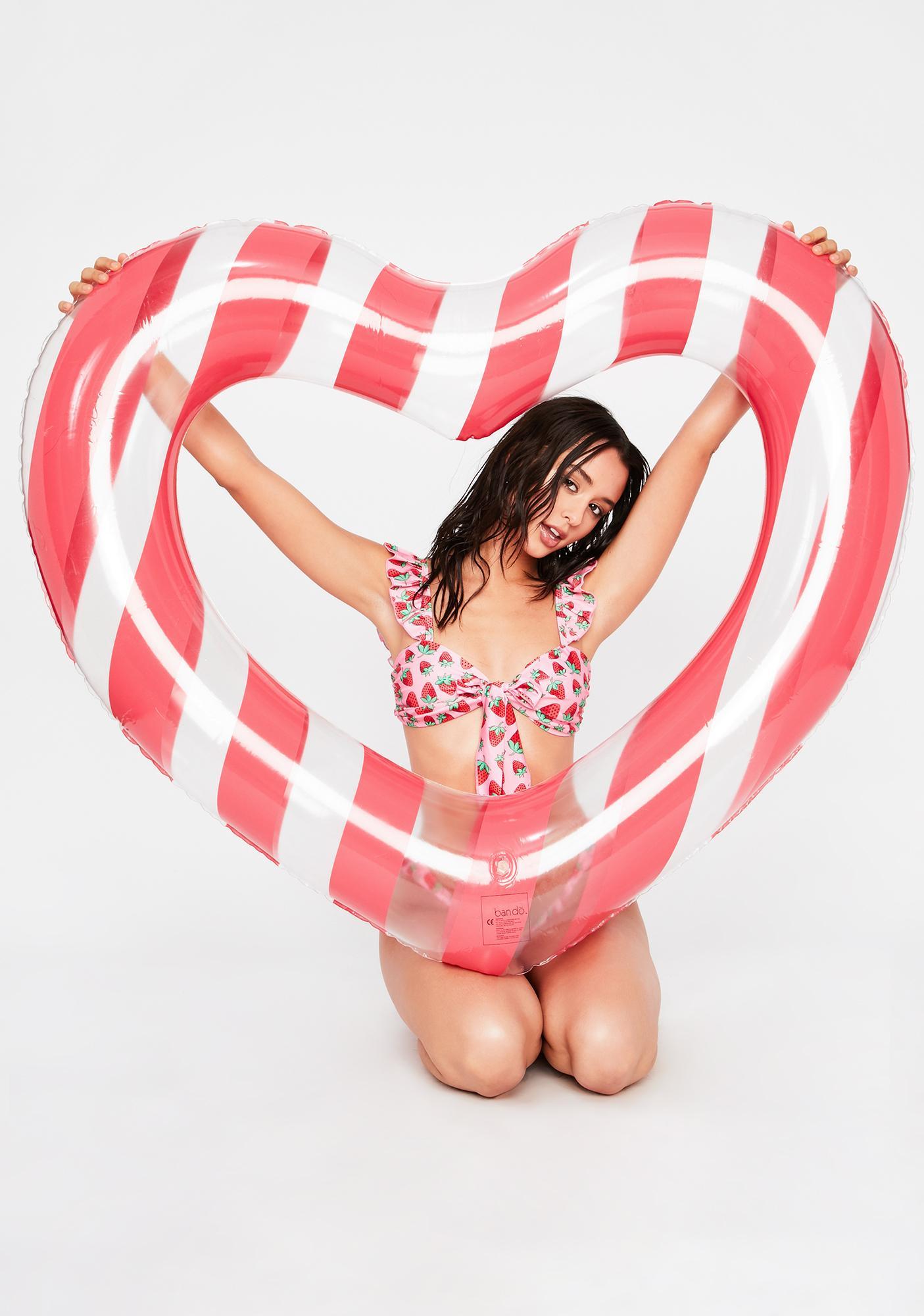 ban.do Float On! Heart Inner Tube