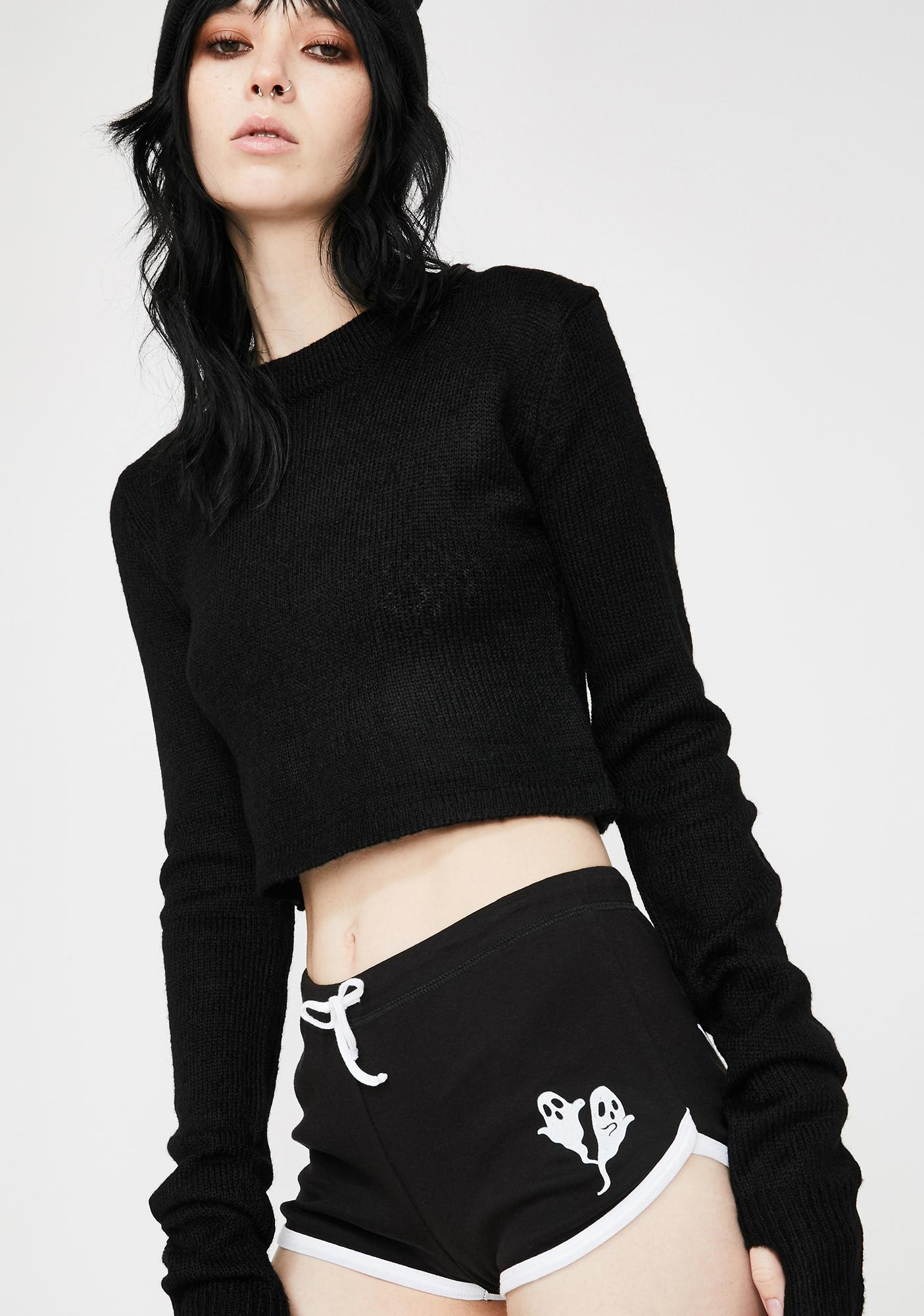 Too Fast Baby Ghoul Hot Shorts