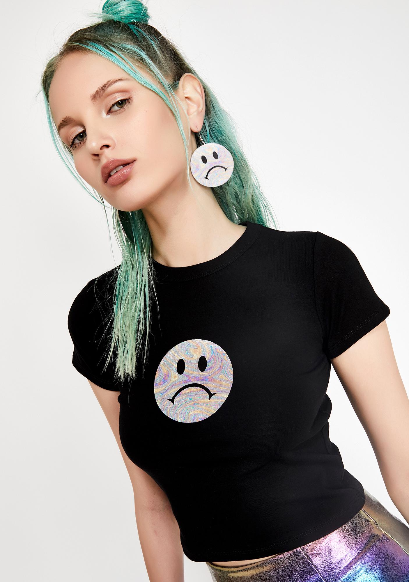 HOROSCOPEZ Sad Girls Club Baby Tee