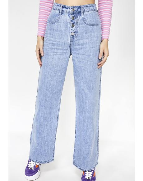 Like It's 1999 Wide Leg Jeans