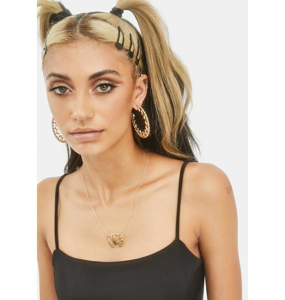 Miss Sensitive Cancer Necklace