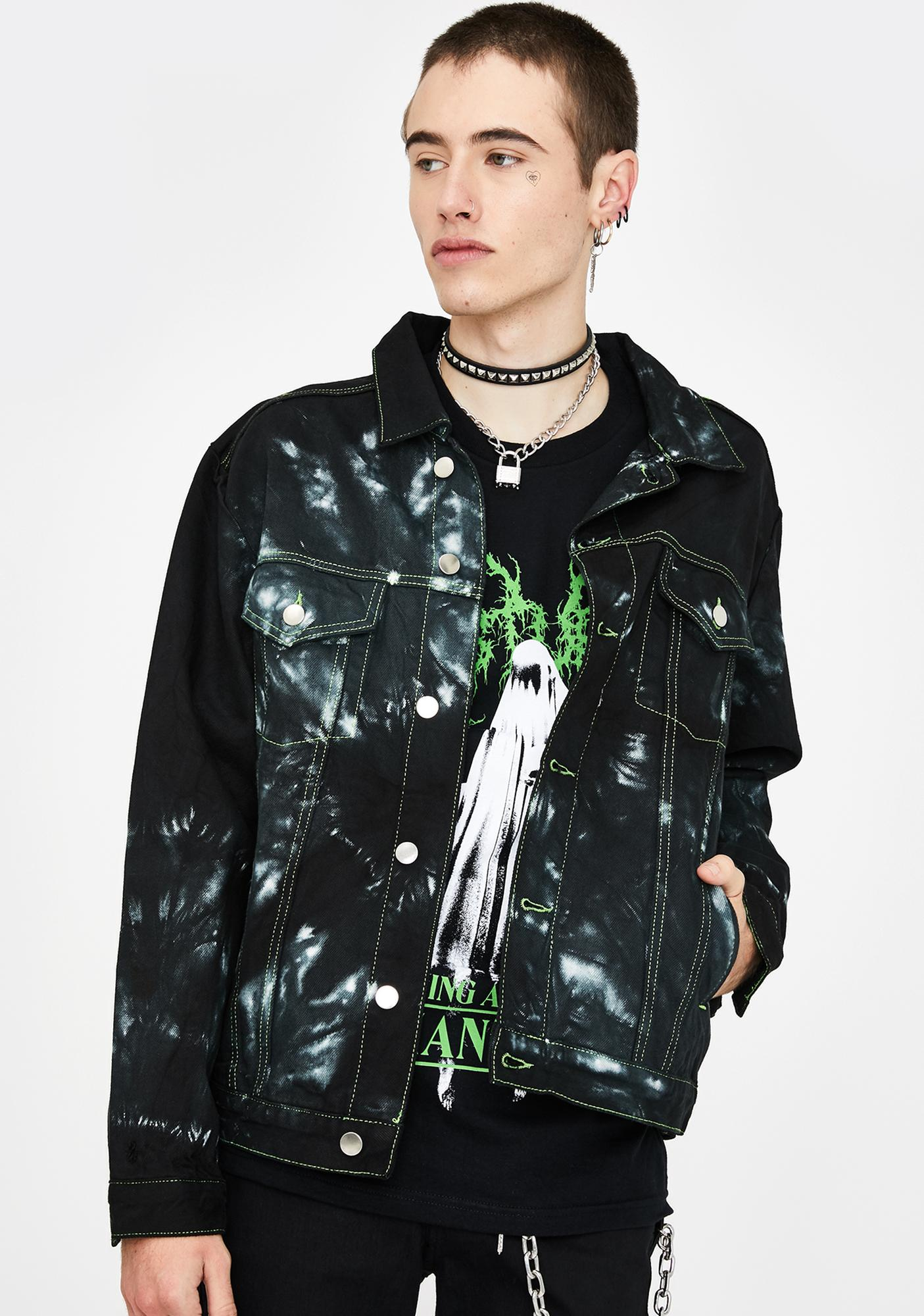Disturbia Nebula Denim Jacket