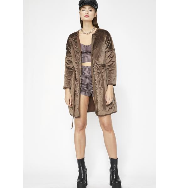 Lucid Dreamer Velvet Jacket