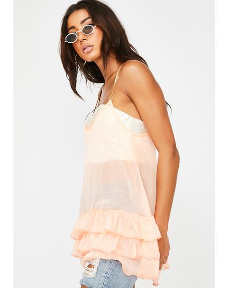 Peaches & Dreams Mini Dress