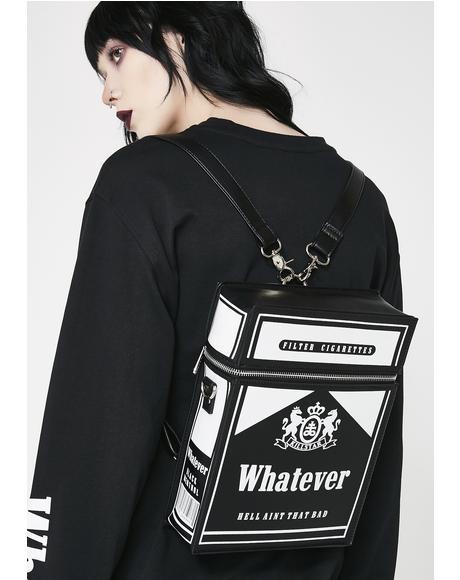 Black Menthol Backpack