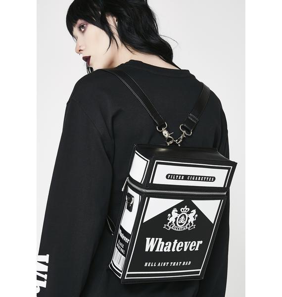 Killstar Black Menthol Backpack
