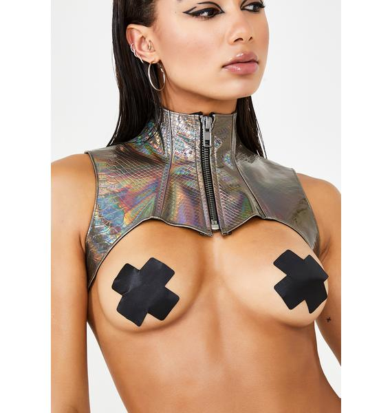 Club Exx Bronze Deadly Dose Snakeskin Harness