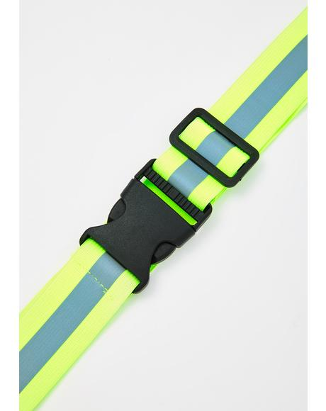 Can't Miss Me Reflective Belt