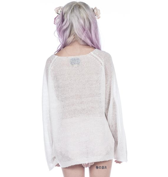 Wildfox Couture Sacred Heart Penny Lane Sweater