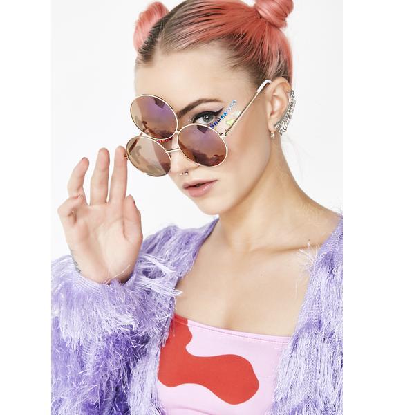Triple Eye Rain 3rd Eye Sunglasses