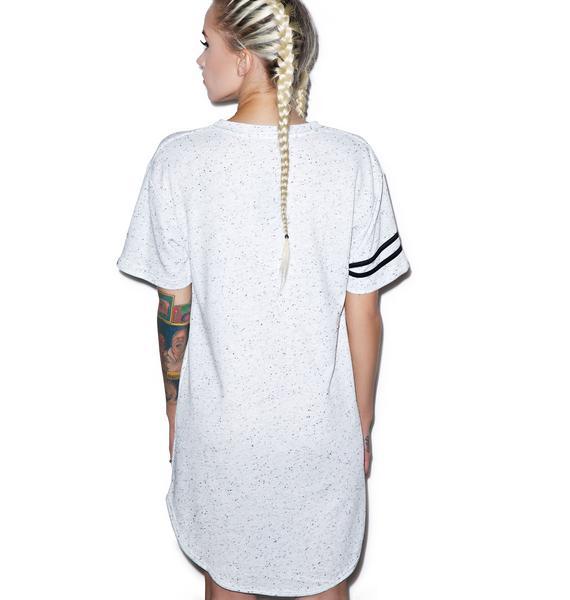 Double-Header Contrast T-Shirt