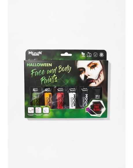 Halloween Face & Body Paint Set