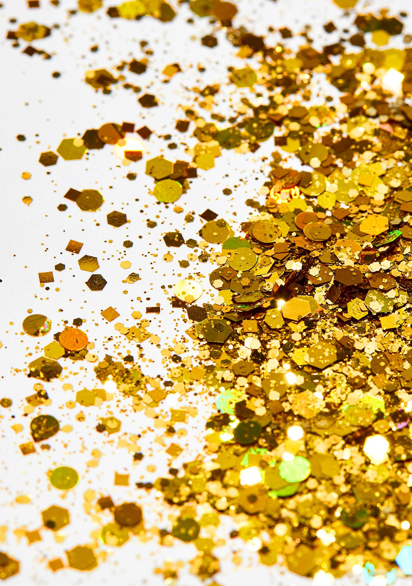 Go Get Glitter Chunky Gold Holographic Glitter