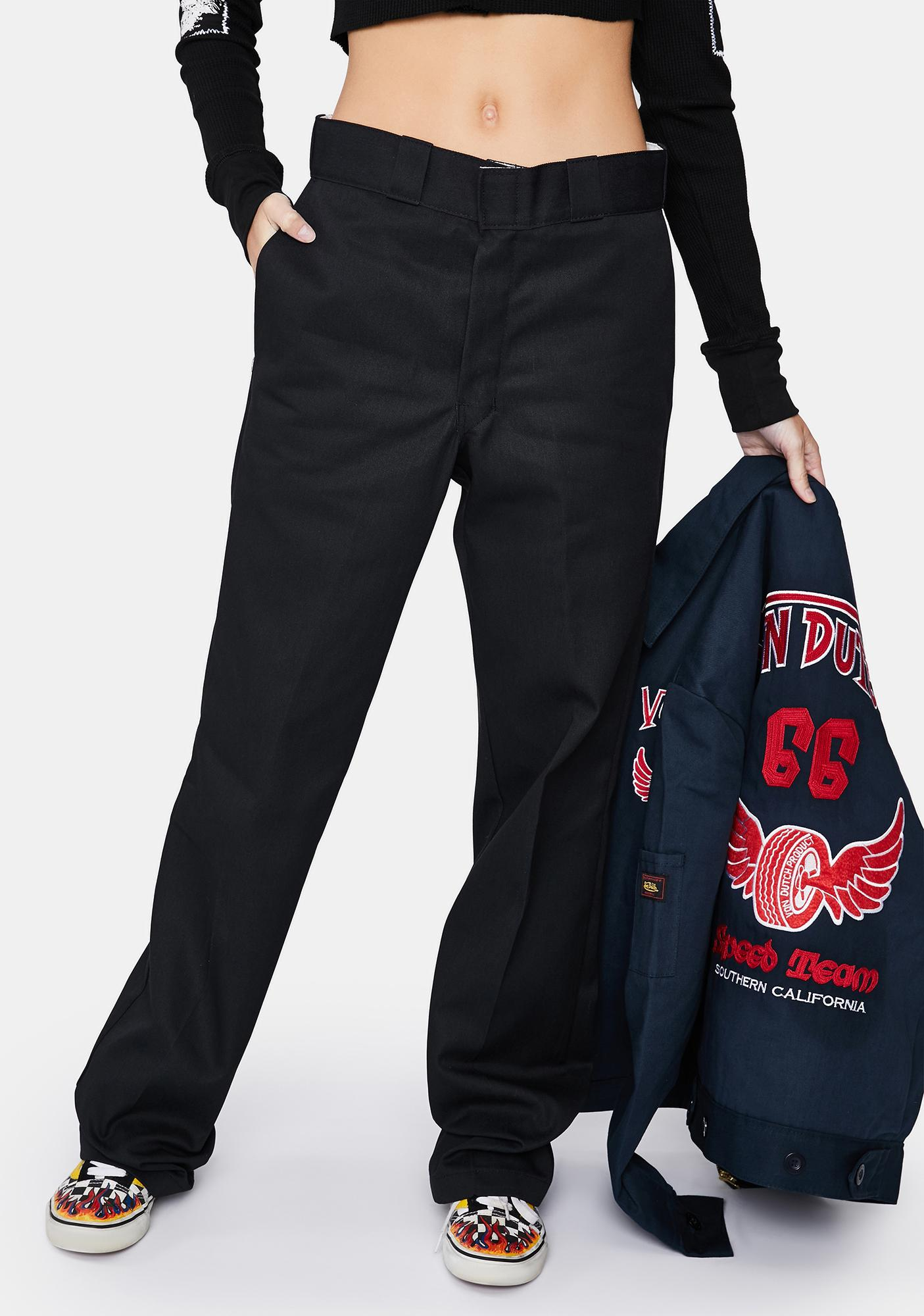 Dickies Black Original 874 Work Pants