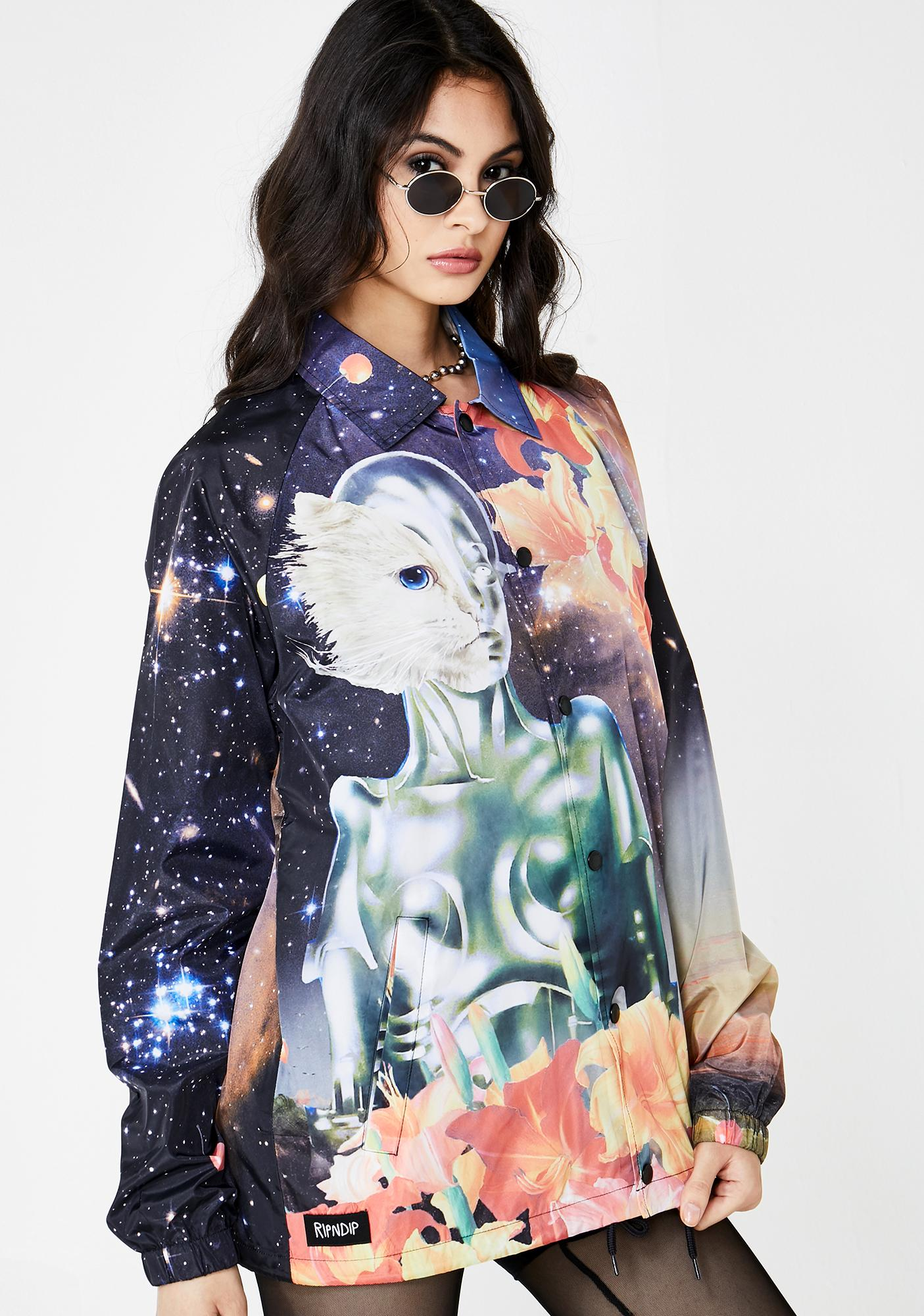 c5be22013b RIPNDIP Galactica Coach Jacket | Dolls Kill