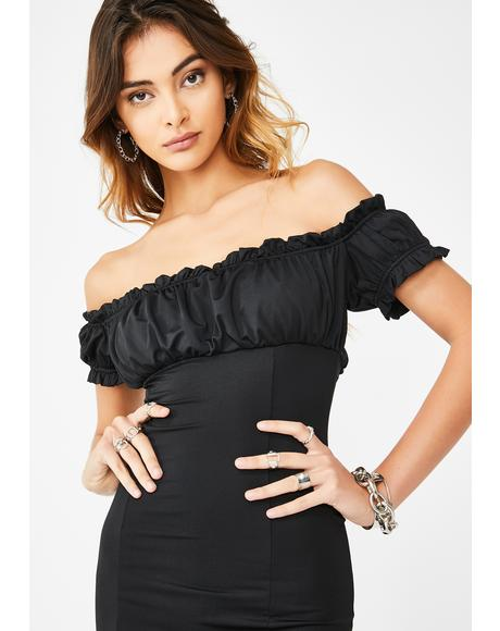 Miss Take Off The Shoulder Dress