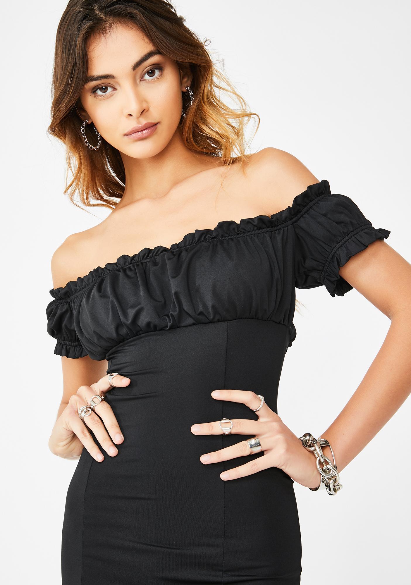 Kiki Riki Miss Take Off The Shoulder Dress