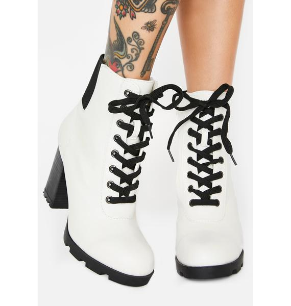 Stronger Than Before Heeled Booties
