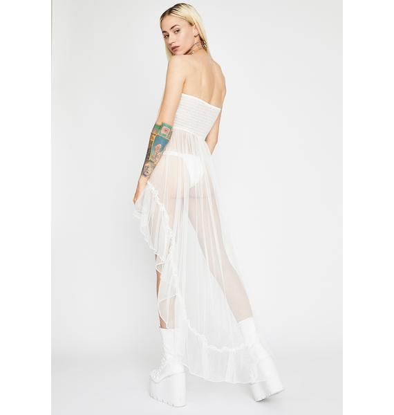 Angel Kiss N' Don't Tell Tulle Top