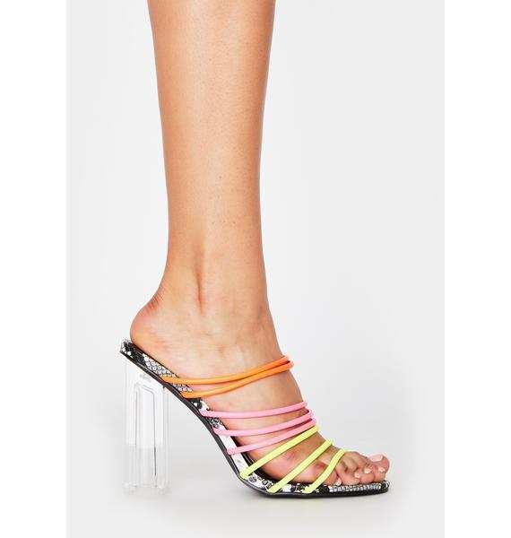Baddie Lane Strappy Heels