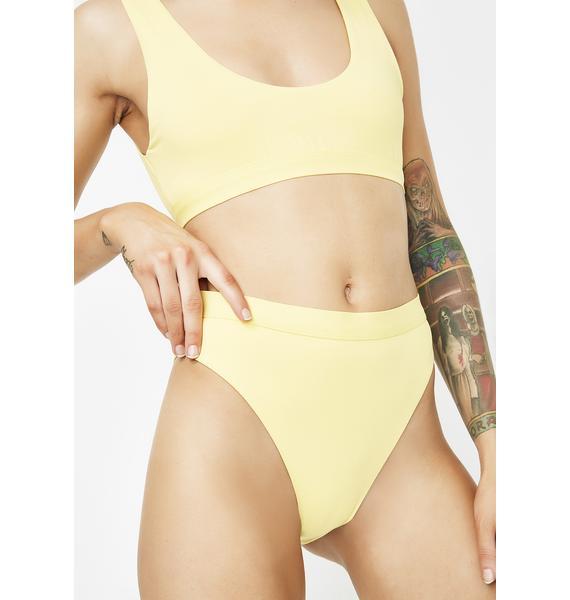 Sunny Seamless High Waist Bikini Bottoms
