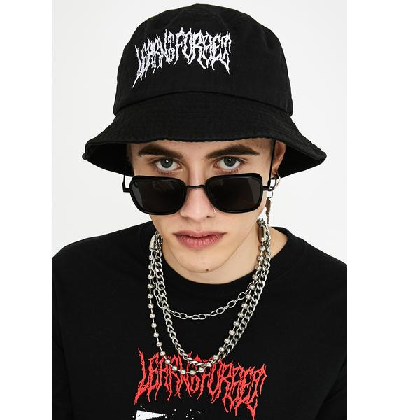 Learn To Forget Death Metal Bucket Hat