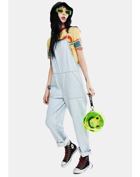 Misty Denim Dungaree