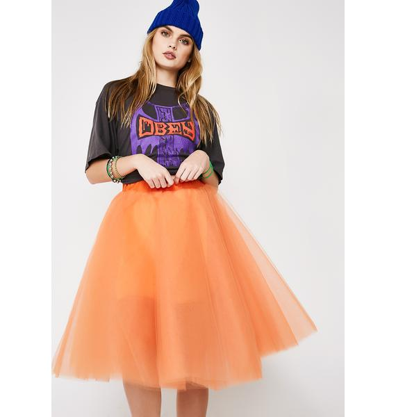 Dancin' On My Own Tulle Skirt